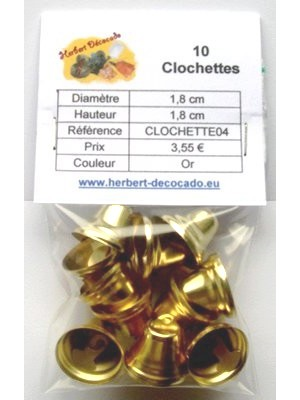 10 Clochettes OR