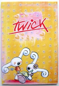 TWICK - Bloc de 45 feuilles fantaisies GM
