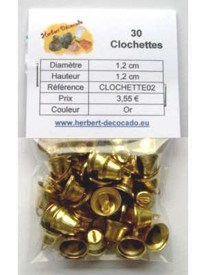 30 Clochettes OR