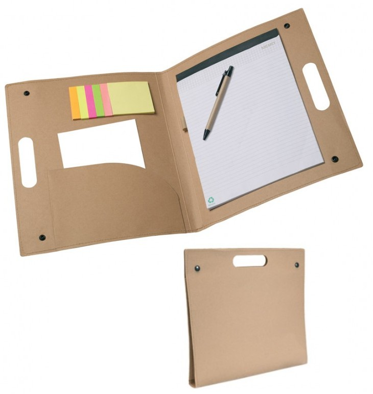 Post-it - Porte-documents & stylo + index + bloc-notes + post-it