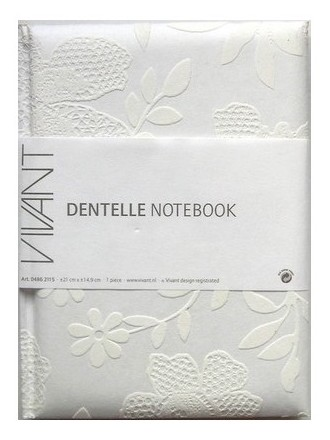 NoteBook Dentelle A5 - Toucher velours