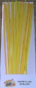 Quilling Paperolle 3 mm JAUNE