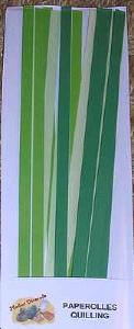 Quilling Paperolle 6 mm VERT